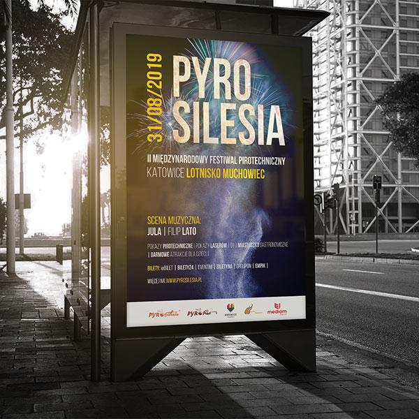 Projekt plakatu PyroSilesia.